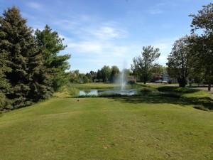 Hole #2 at Greenbush golf course.