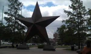One of many stars in Texas